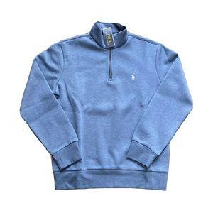 Polo Ralph Lauren 1/4 Zip Double Knit Sweater